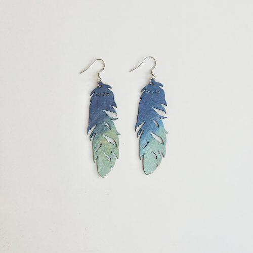 Sulkasopu sininen/mintunvihreä